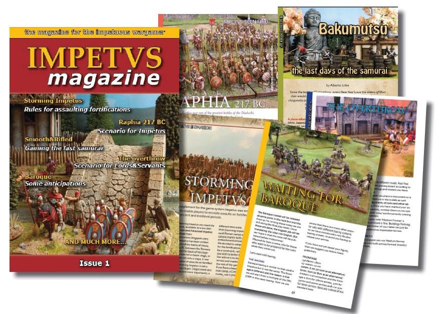Impetus Magazine #1 out! Promoim1
